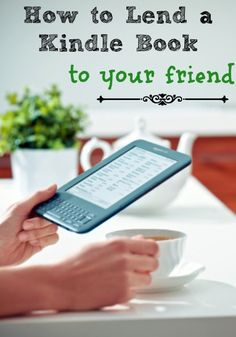 How to Lend a Kindle Book