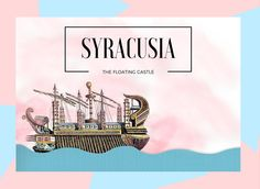 In the 3rd century BC, King Hieron of Syracuse asked Archimedes to supervise the building process of Syracusia. The enormous ship that was meant to be a gift for Ptolemy, the ruler of Egypt. Archimedes then wondered how can he make such a big ship as Syracusia float? It seemed impossible at first, but then Archimedes came up with the law of buoyancy. Syracusia was one of the application of the law of buoyancy.