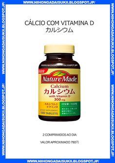 Cálcio com vitamina D