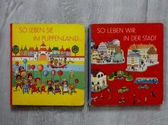 gebrauchtes Buch – Höngesberg, Katrin (Bilder) – So leben sie im Puppenland. Pappbilderbuch.