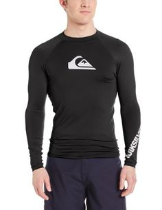 Quiksilver Men's All Time Long Sleeve Surf T-Shirt   $ 34.95