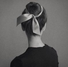 I wear my hair this way Ribbon Hairstyle, Updo Hairstyle, Ponytail Hairstyles, Ballet Hairstyles, Hair Day, Gorgeous Hair, Trendy Hairstyles, Wedding Hairstyles, Hair Looks