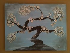 Bonzai Button Tree by Been Buttoned (beenbuttoned.weebly.com)
