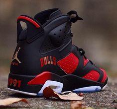 best service a328d 9cc6d shoes black and red jordan red black gold chicago bulls jordans jordans  chicago chicago bulls black jordan red chicago bulls retro 6 custom jordan s  retro ...