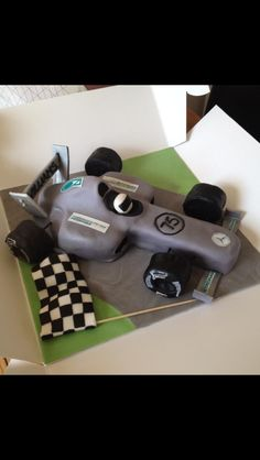 Mercedes formula 1 f1 cake cakes pinterest formule for F1 car cake template