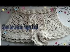 YouTube Crochet Pants, Crochet Box, Crochet Girls, Crochet Clothes, Knit Crochet, Crochet Bikini Pattern, Swimsuit Pattern, Crochet Patterns, Parte Superior Del Bikini