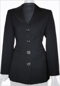 Isabel de Pedro Anzug Jacke in schwarz #OUTLETMODE, #Designeroutlet, #Outlet, #MODE , #Blazer , - #DESIGNERMODE GÜNSTIG ONLINE alles immer 50% reduziert