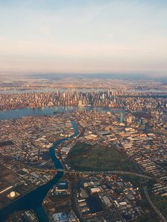 NY why do we never see these shots? @kellypurkey shot this with an iPhone out a plane window! Stunning.