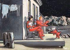 Tintin Yoko Tsuno oil painting reproduction on canvas, handmade by our studio's skillful artists. Pin Up, Tin Tin Cartoon, Heavy Metal Comic, Tableau Pop Art, Edward Hopper, Ligne Claire, Art En Ligne, Wire Fox Terrier, Oil Painting Reproductions