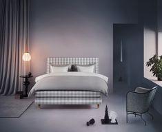 Letto Hastens limited edition: 50 sfumature di grigio, beige e bianco How To Make Bed, Elle Decor, Mattress, Design Inspiration, Interior Design, House, Instagram, Bed Making, Beige