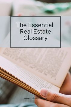 The Essential Real Estate Glossary Real Estate Exam, Real Estate Tips, Real Estate Marketing, Exams Tips, Exam Study, Keep It Real, Essentials, Business, Blog