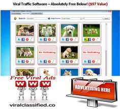 Free Viral Image Social Sharing  Software – Absolutely Free Below! http://viralclassified.co/newsletter/ Post The Image On Social Sharing Sites: #pinterest #facebook #twitter Desktop Software: PC & Mac Version
