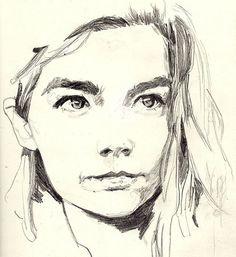 Björk, by Brooklyn based artist Adria Mercuri @adriamercuri #art #artwork #illustration #drawing #sketch #graphite #pencilonpaper #figurative #figurativeart #portrait #faces #bjork #allisfulloflove #venusasaboy #cometome #unravel #wanderlust #isabel #joga #hunter #armyofme #declareindependence #dancerinthedark #icelandic #bjorkgudmundsdottir #newyorkartist #brooklynartist #adriamercuri