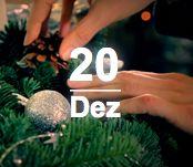 Türchen 20: Dekotipps auf unserem Pinterest Board. www.twt.de/weihnachten2012/20/