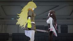 RWBY Volume 2 Fight Scene - Yang Vs Neo (HD). ((The choreography in this one is super interesting to watch))