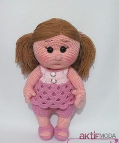Shop for on Etsy, the place to express your creativity through the buying and selling of handmade and vintage goods. Crochet Dolls, Crochet Baby, Owl Hat, Cute Dolls, Baby Patterns, Kids Toys, Baby Dolls, Teddy Bear, Knitting
