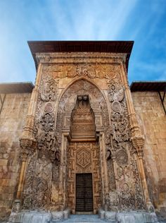 13 incredible UNESCO sites you didn't know were in Turkey.This is the Great Mosque and Hospital of Divriği. The region of east-central Turkey where Divriği lies was one of the early Turkish conquests in Anatolia, and the Great Mosque here was founded 1228 Architecture Antique, Islamic Architecture, Art And Architecture, Renaissance Architecture, Istanbul Turkey, World Heritage Sites, Islamic Art, Archaeology, Wonders Of The World