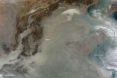 ▼8Sep2014NationalGeographic|中国のスモッグ、衛星写真 http://www.nationalgeographic.co.jp/news/news_article.php?file_id=2014090801&source=mainichijp #China #Smog