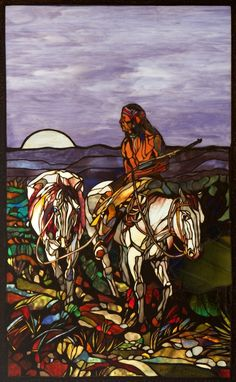 I'm amazed at the talent.  Another from Powers Stained glass.