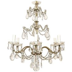 Italian Chandelier | From a unique collection of antique and modern chandeliers and pendants  at https://www.1stdibs.com/furniture/lighting/chandeliers-pendant-lights/
