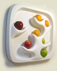 Wall mounted fruit bowl!