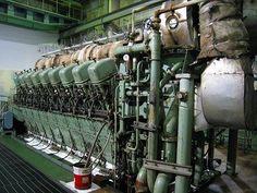 mitsubishi marine engine | MITSUBISHI 5000KW USED DIESEL ENGINE GENERATOR, View MITSUBISHI 5000KW ... Marine Diesel Engine, Marine Engineering, Aircraft Engine, Combustion Engine, Submarines, Water Crafts, Halo, Ships, Boat