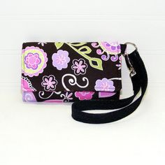 Cell Phone Wallet Wristlet   iPhone, Smart Phone, Droid