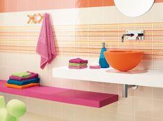 Colección de Revigres ideal para un baño infatil.
