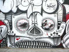 Street art by How & Nosm