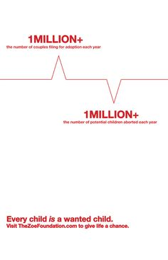 Social Awareness Posters by Victoria Moore, via Behance  Adoption as a positive alternative to abortion - The Zoe Foundation