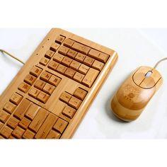 竹製ハンドメイド $50.03 100% Bamboo Handcrafted Keyboard