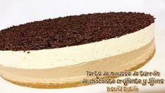 Nueva receta disponible en el Blog: Tarta de mousse de turrón de chocolate crujiente y Jijona Deli, Tiramisu, Cheesecake, Sweets, Ethnic Recipes, Desserts, Blog, The World, Mousse Cake