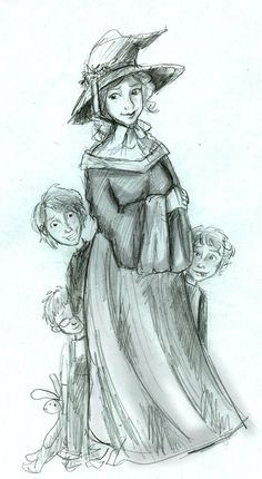 Pretty Molly by Hillary-CW on deviantART she is pregnant with the twins, Bill is 7.8, Charlie 5.9 and Percy 3.5.
