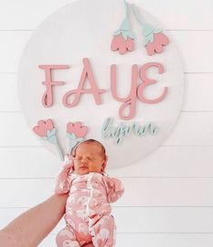 Nursery Name, Nursery Room Decor, Nursery Signs, Kids Bedroom, Gorgeous Girl Names, Middle Names For Girls, Wood Wall Decor, Nursery Inspiration, Gifts For New Moms