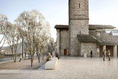 S.Simone square | Inches Geleta Architetti Sagl