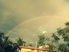Beautiful rainbow....