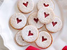 Mini Linzer Cookies