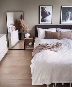 home decor apartment Room Ideas Bedroom, Small Room Bedroom, Home Decor Bedroom, Living Room Decor, Bedroom Ideas For Small Rooms For Adults, Ikea Bedroom Design, Small Modern Bedroom, Bedroom Simple, Nursery Decor