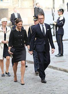 Crown Princess Victoria and Daniel of Sweden 2010