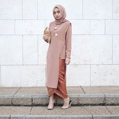 Dress Casual Wedding Gowns 65 Ideas For 2019 Kebaya Modern Hijab, Kebaya Hijab, Modern Hijab Fashion, Batik Fashion, Abaya Fashion, Model Kebaya Modern Muslim, Model Kebaya Brokat Modern, Dress Muslim Modern, Muslim Dress