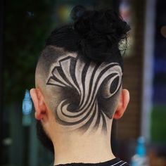Hair Tattoo Men, Hair Tattoos, Undercut Hairstyles, Hairstyles Haircuts, Undercut Pompadour, Album Design, Undercut Hair Designs, Fade Designs, Shaved Hair Designs
