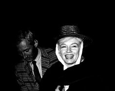 """""""Marilyn Monroe arrives back in Reno for the filming of The Misfits. """""""