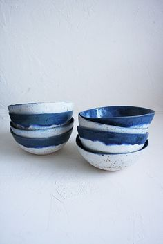 Двухцветные миски про зиму handmade handmadeceramics ceramics pottery