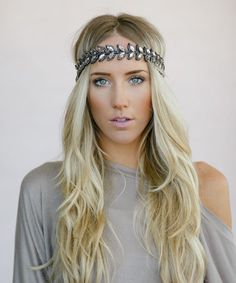 This Silver Leaf Bead Headband by Three Bird Nest is perfect! #zulilyfinds