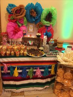 Sweet Mexican table !!