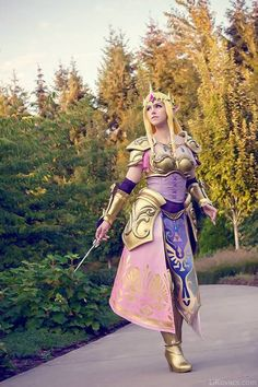 New Princess Zelda from Hyrule Warriors cosplay. how do people make cosplay like… Video Game Cosplay, Epic Cosplay, Amazing Cosplay, Cosplay Outfits, Cosplay Girls, Cosplay Ideas, Fullmetal Alchemist, Costume Manga, Vocaloid
