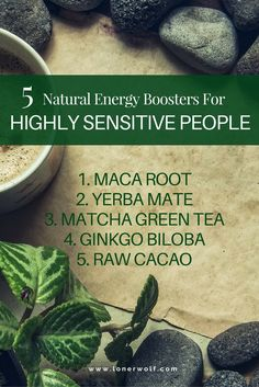 Fight fatigue with these gentle and wholesome natural energy boosters!