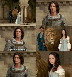 I'm sorry, but Caspian is REALLY attractive.<<<<Um the girl is hotter (I forgot her naaammmeee) Susan Pevensie, Edmund Pevensie, Movies Showing, Movies And Tv Shows, Narnia Cast, Narnia Movies, Httyd, The Avengers, Ben Barnes
