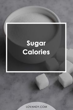 Sugar is a well-known component of any meal. Basically, this substance is a pure sucrose, which is needed for our body to have some energy. #sugarcalories #calories Easy Healthy Recipes, Healthy Food, Calories In Sugar, How Much Sugar, Food Charts, Tasty, Yummy Food, Grocery Lists, Calorie Counting