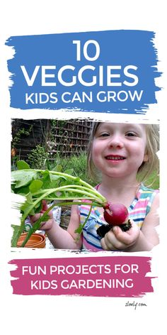 Gardening with kids is a wonderful way for kids to have fun outdoors. These 10 kids gardening projects are simple ways to get started growing vegetables that help children explore the lifecycle of plants and pollination. #kidsgardening #outdoorkids #gardeningwithkids #gardeningwithchildren #plantscienceprojects #plantscience Preschool Activities At Home, Spring Activities, Health Activities, Kindergarten Science, Fun Projects For Kids, Diy Projects For Beginners, Too Faced Natural Matte, Plant Science, Diy Chicken Coop